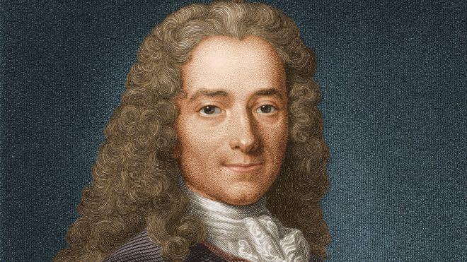 Voltaire habla sobre la justicia