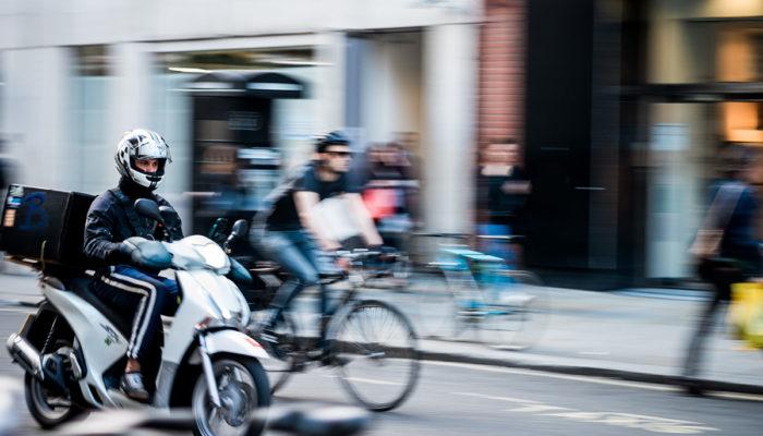 Situación laboral de los riders o repartidores