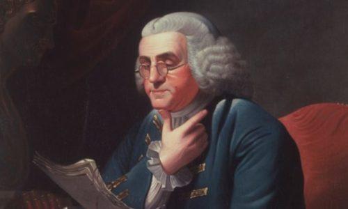 Benjamín Franklin habla sobre la justicia