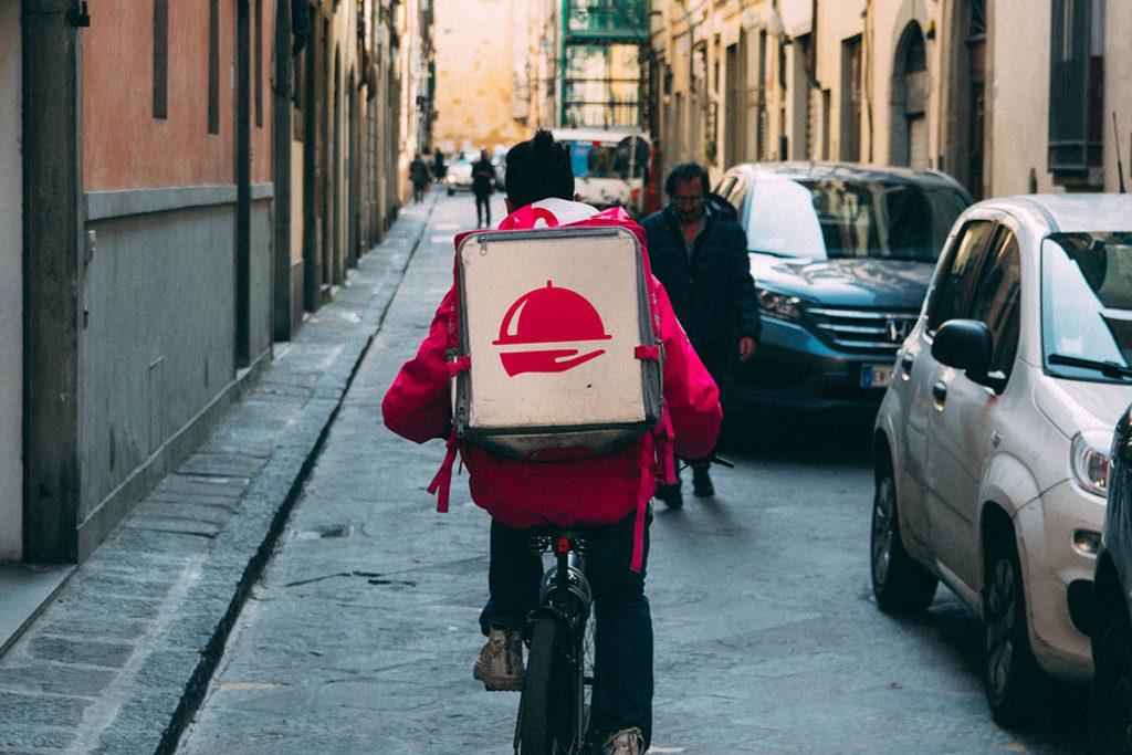 Relación laboral de los riders en Madrid