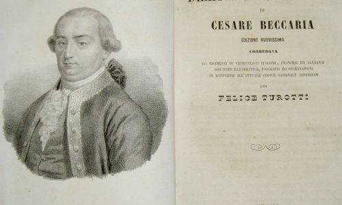 Cesare Beccaria sobre las leyes y los jueces